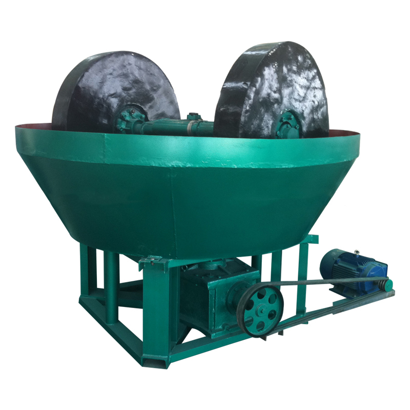 High Quality Mercury Gold 1200 Grinding Wet Pan Mill