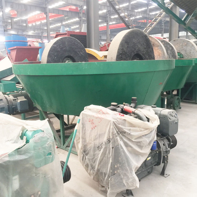 Wet Pan Mill for Grinding Gold Ore